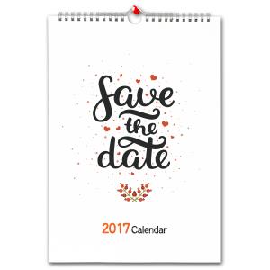 オリジナル壁掛けカレンダー